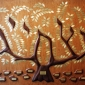 Tree of Life by David Klass of Synagogue Art: United Orthodox Synagogues, Houston, TX