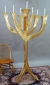 Menorah by David Klass of Synagogue Art: Congregation Beth Yam, Hilton Head, SC
