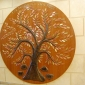 Tree of Life by David Klass of Synagogue Art: Chabad of Port Washington, Port Washington, NY