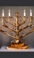 Table Menorah by David Klass of Synagogue Art, Brooklyn, NY