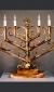 Table Menorah by David Klass of Synagogue Art, Brooklyn, NY