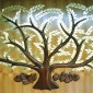 Tree of Life by David Klass of Synagogue Art: Temple Sinai, Buffalo, NY