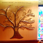 Tree of Life by David Klass of Synagogue Art: Mt. Moriah AME Church, Elmont, NY